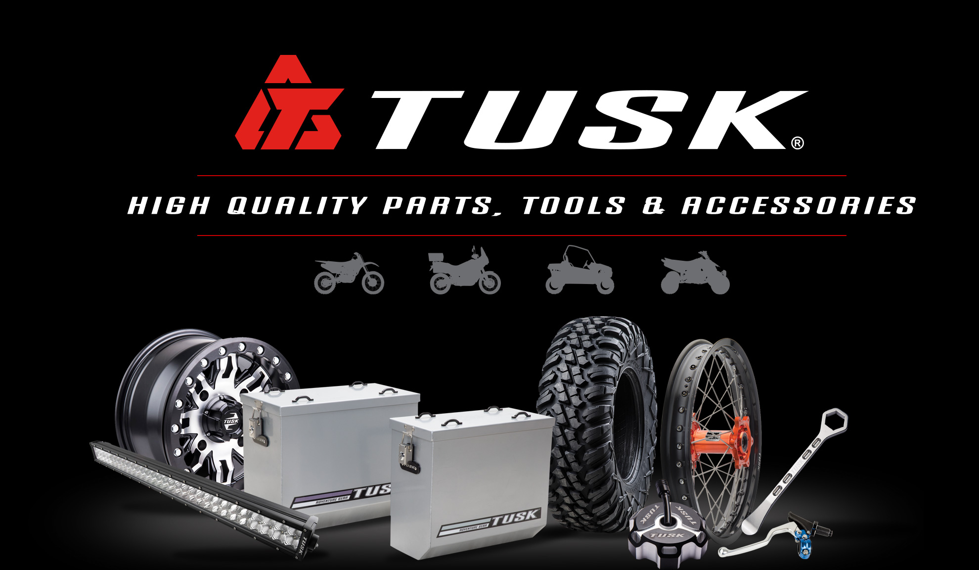 TUSK - Parts and accessories for dirt bikes, UTVs, SxS, ATVs